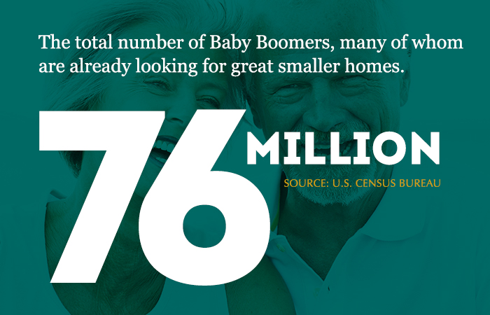 Older buyers represent a huge residential construction opportunity.