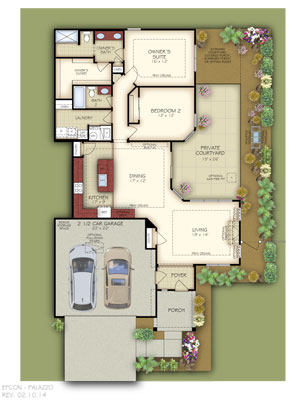 Epcon provides Franchise Builders popular house plans that have been market tested.