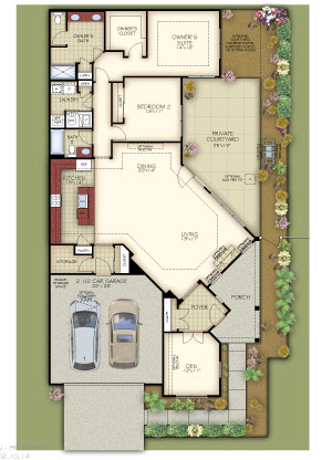 Epcon's popular house plans have ample storage, open floor plans, and luxury touches.