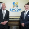 Epcon co-founders Phil Frankhauser (left) and Ed Bacome.