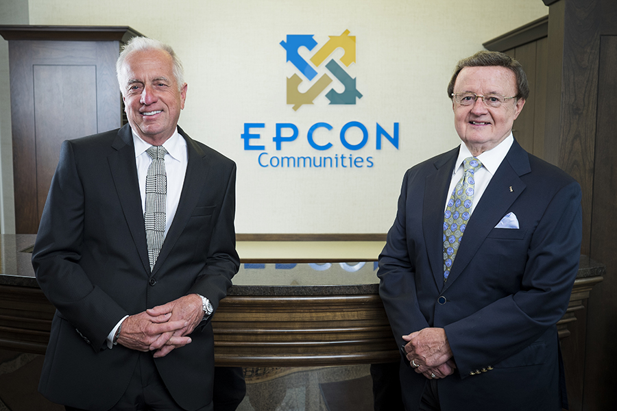 Smart Business, known for profiling successful CEOs, sought out Epcon Communities Franchising co-founders Philip Fankhauser and Edward Bacome for a feature about the home building franchise system's continued success.