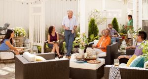 Epcon floor plans feature outdoor areas for entertaining