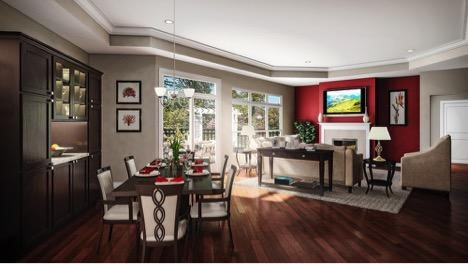 Epcon homes open floor plans