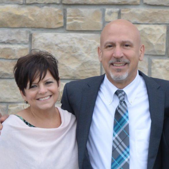Portrait of Lisa and Paul Scarmazzi, Principals of Hawthorne Partners
