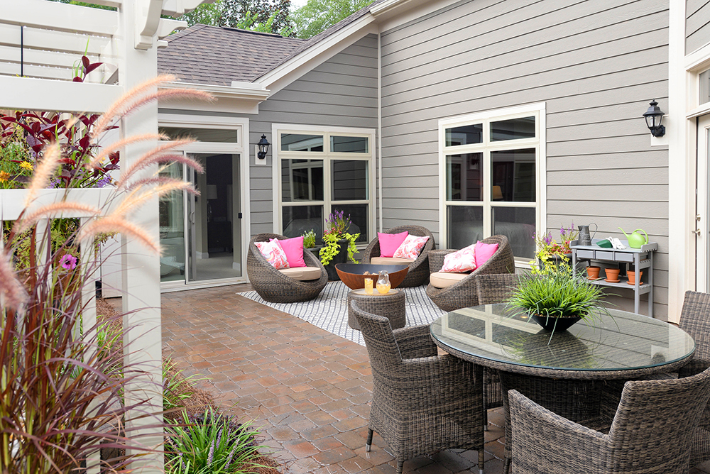 Epcon Franchise patio view
