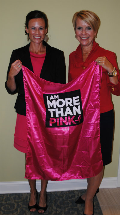 """Epcon Franchise receives """"More Than Pink"""" Hero cape"""