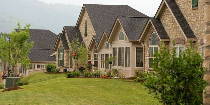 A view of several Epcon homes