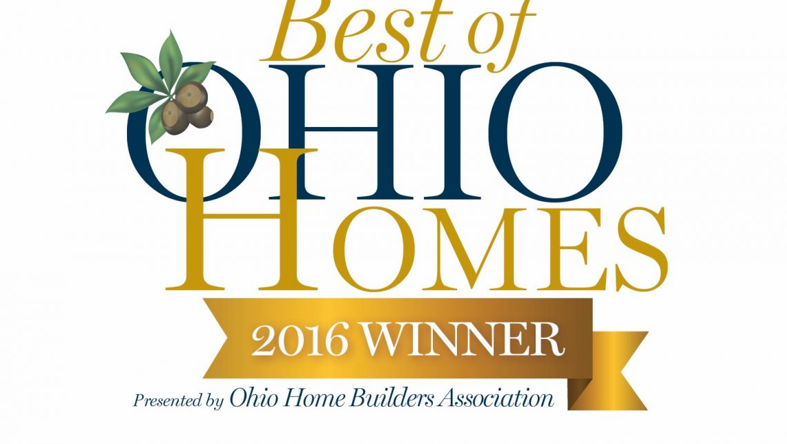 Best of Ohio Homes 2016 Winner Presented by Ohio Home Builders Association