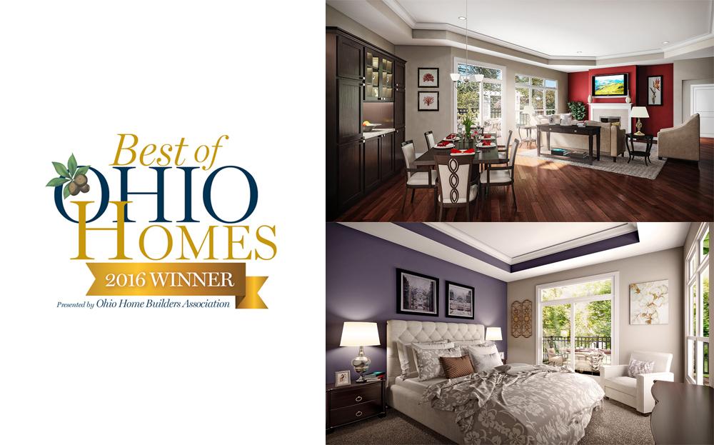 Award with snapshots of Promenade interior
